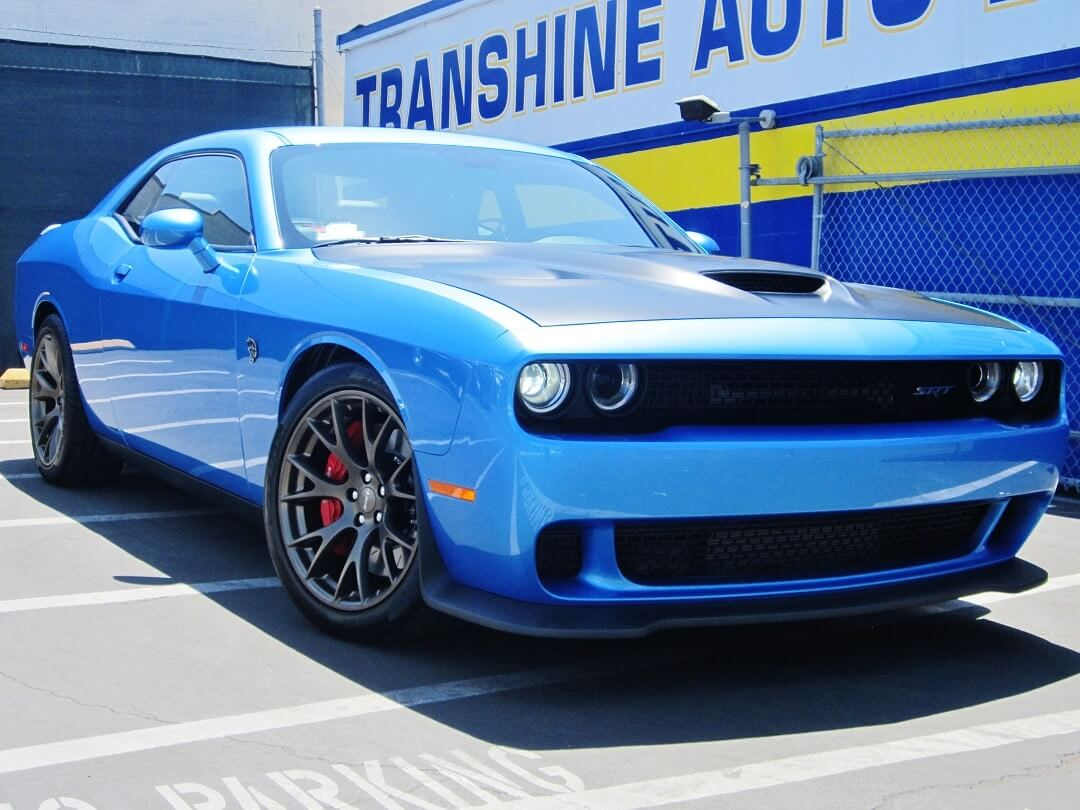 Auto Detailed Car Blue